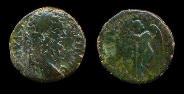 "Ancient ""Greek Imperial"" (Roman colonial) bronze coin of Roman Emperor Severus Alexander from Nicopolis, Moesia Inferior"