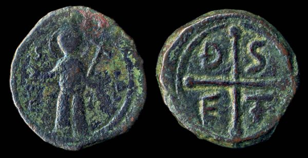 Crusader, Antioch, Tancred, 1104-12, follis coin