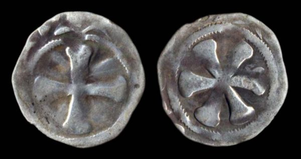 Medieval French silver coin of Puy Bishopric