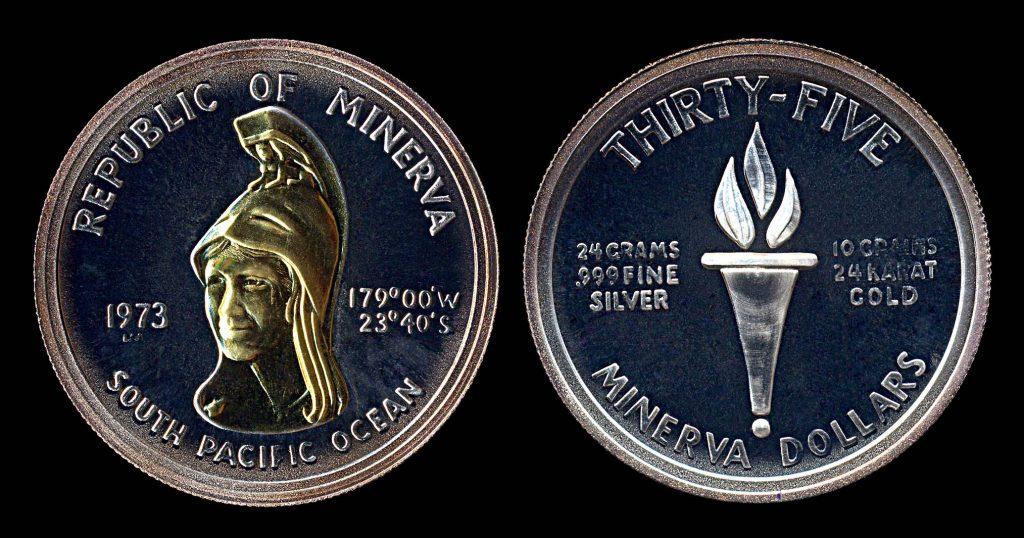 MINERVA 35 dollar fantasy coin