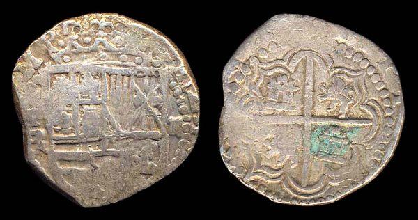 Bolivian cob coin