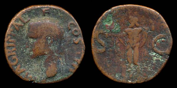 ROMAN EMPIRE, Caligula, 37-41 AD, bronze, as