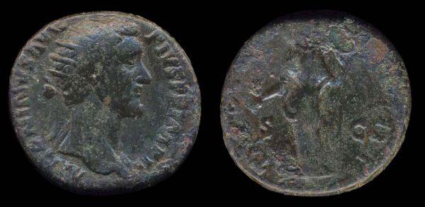 ROMAN EMPIRE, Antoninus Pius, 138-161 AD, bronze, dupondius