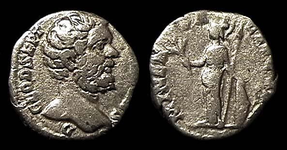 ROMAN EMPIRE, Clodius Albinus, Caesar, 193-195 AD, silver, denarius