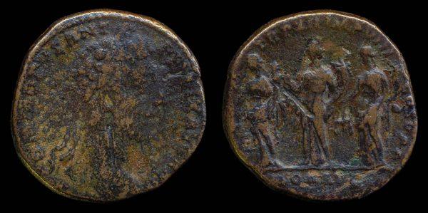 ROMAN EMPIRE, Commodus, 177-192 AD, brass, sestertius
