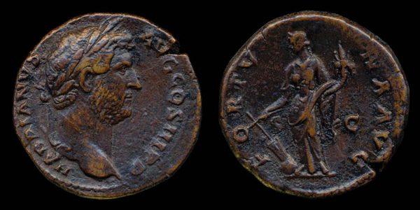 ROMAN EMPIRE, Hadrian, 117-138 AD, bronze, as