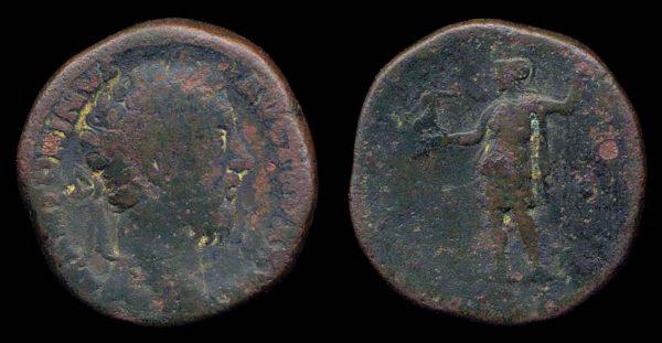 ROMAN EMPIRE, Marcus Aurelius, 161-180 AD, brass, sestertius