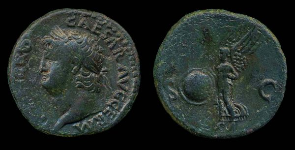 ROMAN EMPIRE, Nero, 54-68 AD, bronze, as