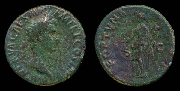 ROMAN EMPIRE, Nerva, 96-98 AD, bronze, as