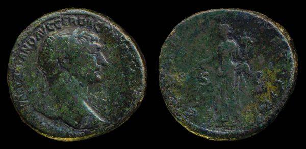 ROMAN EMPIRE, Trajan, 98-117 AD, brass, sestertius