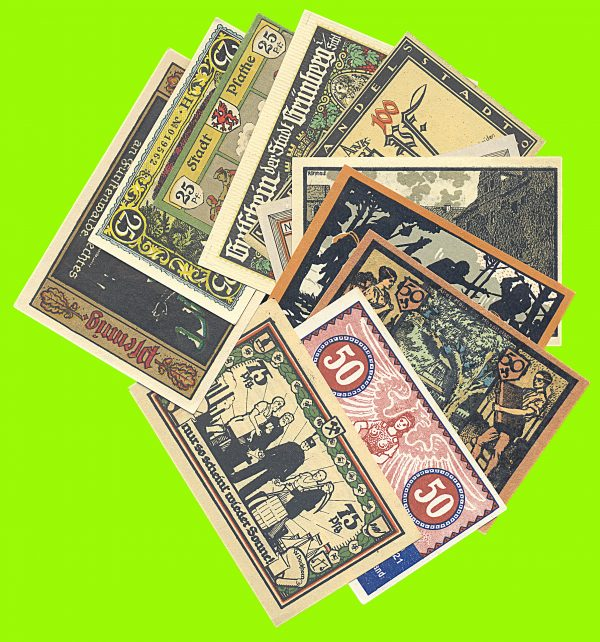 German notgeld lot
