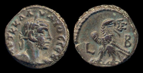 EGYPT, Claudius II, 268-70 AD, tetradrachm