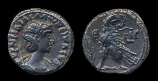 EGYPT, Salonina, 253-268 AD, tetradrachm