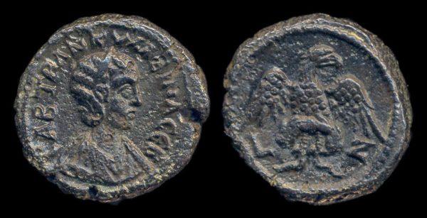 EGYPT, Tranquillina, 238-244 AD, tetradrachm
