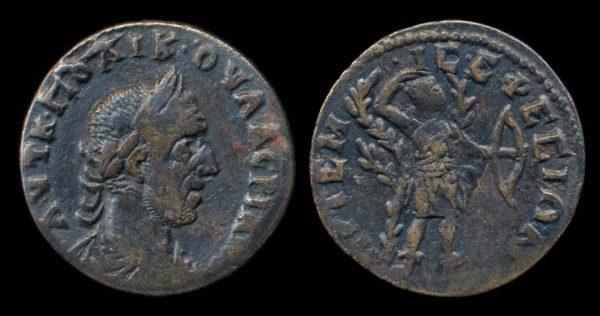 IONIA, EPHESUS, Valerian I, 253-260 AD, bronze