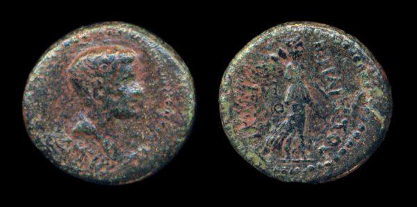 IONIA, SMYRNA, Brittanicus, 43-50 AD, bronze