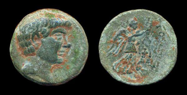 CILICIA, SOLOI-POMPEIOPOLIS, Pompey the Great, 66-48 BC, bronze