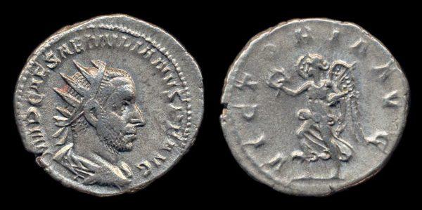 ROMAN EMPIRE, Aemilian, July - October, 253 AD, silver, antoninianius
