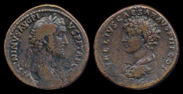 ROMAN EMPIRE, Antoninus Pius & Marcus Aurelius, 138-161 AD, sestertius