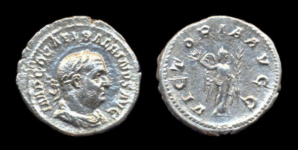 ROMAN EMPIRE, Balbinus, April to July, 238 AD, silver, denarius