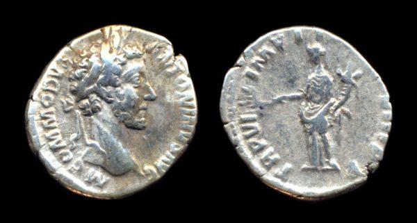 ROMAN EMPIRE, Commodus, 177-192 AD, denarius