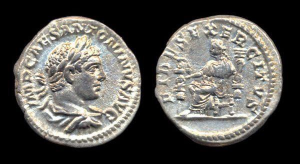 ROMAN EMPIRE, Elagabalus, 218-222 AD, denarius