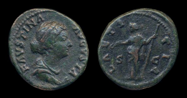 ROMAN EMPIRE, Faustina Jr., 145-175 AD, as