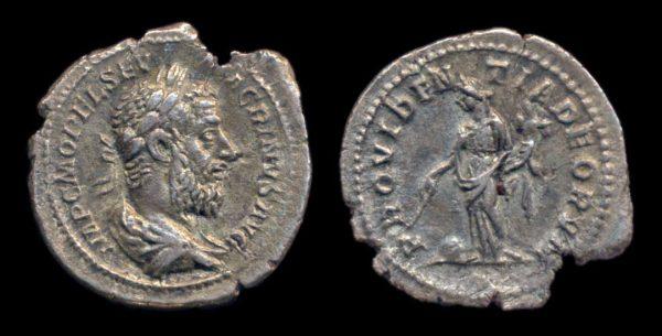 ROMAN EMPIRE, Macrinus, 217-218 AD, denarius