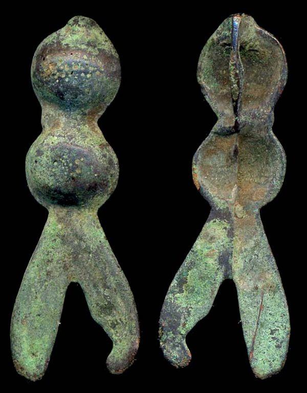"Ancient Chinese bronze cicada ""money"""