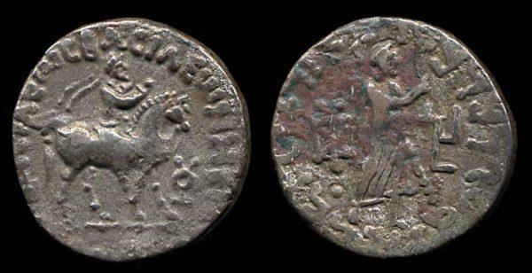 Indo-Parthian king Gondophares tetradrachm