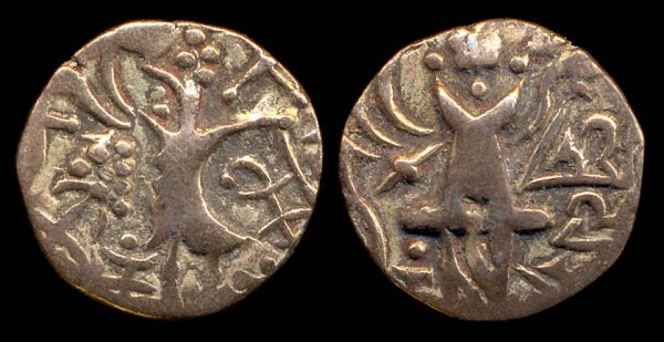 Kidarites of Northern India, base gold coin of Yasovarman