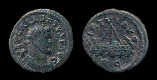 ROMAN EMPIRE, Allectus, 293-296 AD, half antoninianius