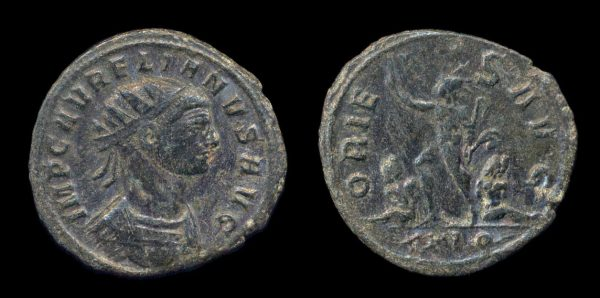 ROMAN EMPIRE, Aurelian, 270-75 AD, antoninianius
