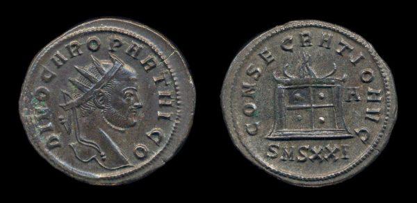 ROMAN EMPIRE, Carinus & Divo Caro,  antoninianius