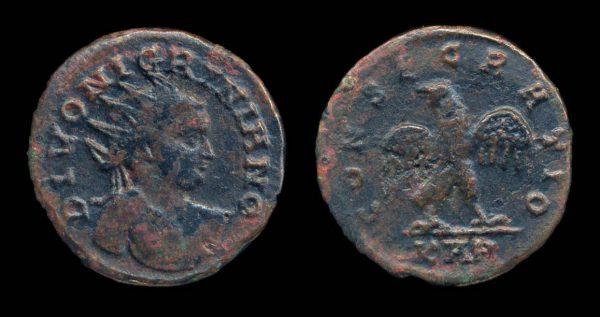 ROMAN EMPIRE, Carinus & Nigrinian, 284 AD, antoninianius