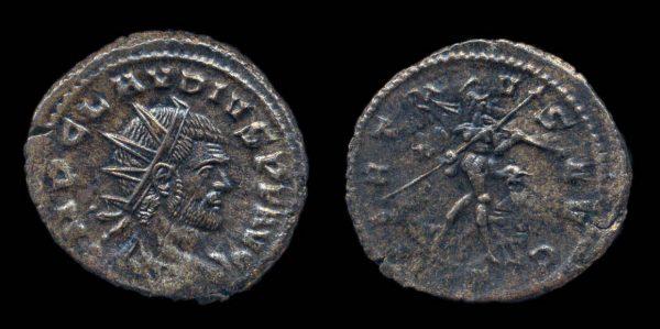 ROMAN EMPIRE, Claudius II Gothicus, 268-270 AD, antoninianus