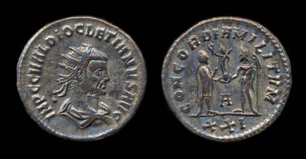 ROMAN EMPIRE, Diocletian, 284-305 AD, antoninianius