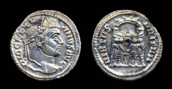 ROMAN EMPIRE, Diocletian, 284-305 AD, argentius