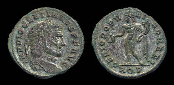 ROMAN EMPIRE, Diocletian, 284-305 AD, follis