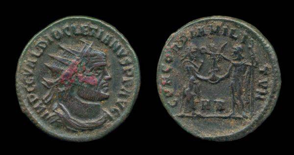 ROMAN EMPIRE, Diocletian, 284-305 AD, post-reform radiate