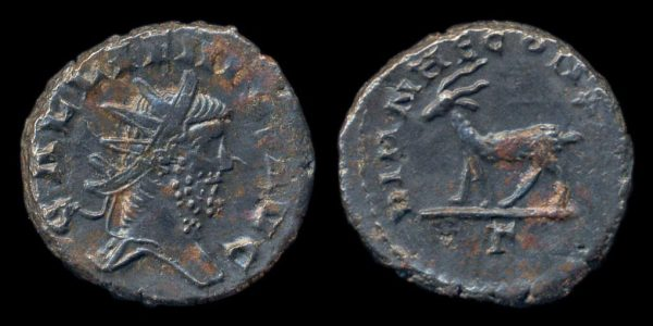 ROMAN EMPIRE, Gallienus, 253-268 AD, antoninianius