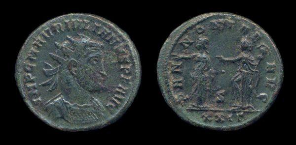 ROMAN EMPIRE, Julian of Pannonia, November 284 - February 285 AD, antoninianius