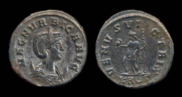 ROMAN EMPIRE, Magnia Urbica, 283-285 AD, antoninianius