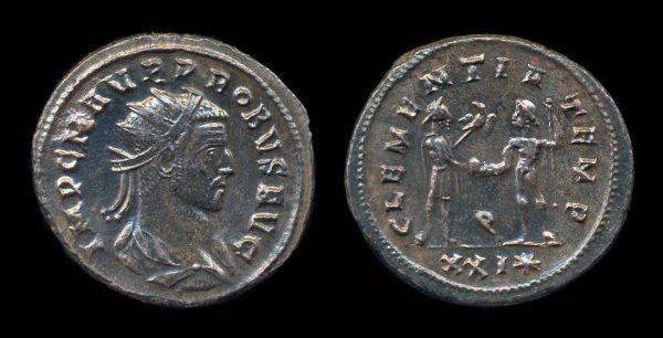 ROMAN EMPIRE, Probus, 276-282 AD, antoninianius