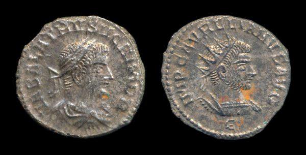 ROMAN EMPIRE, Vabalathus, 270 AD, antoninianius