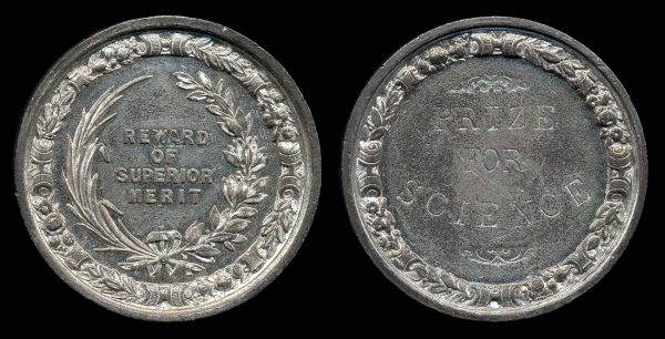 GREAT BRITAIN, 19th century school award medal