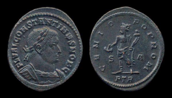 ROMAN EMPIRE, Constantine I, Caesar, 306-310 AD, follis, Treveri mint