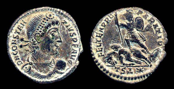 Constantius II coin