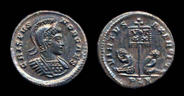 ROMAN EMPIRE, Crispus, 317-326 AD, centenionalis, London mint