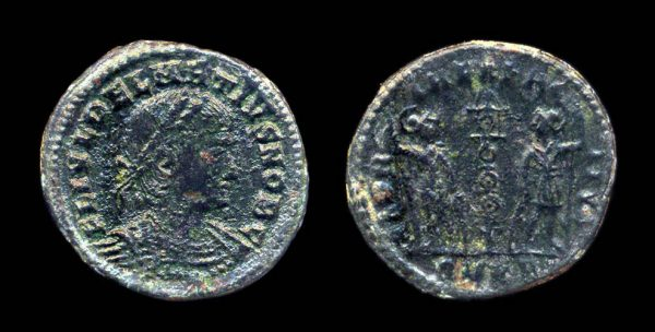 ROMAN EMPIRE, Delmatius, 335-337 AD, reduced centenionalis, Cyzicus mint